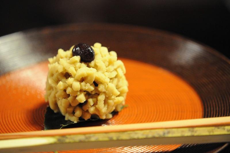 dolce, Kitcho, Chef Kunio Tokuoka, Cucina Kaiseki, Kyoto