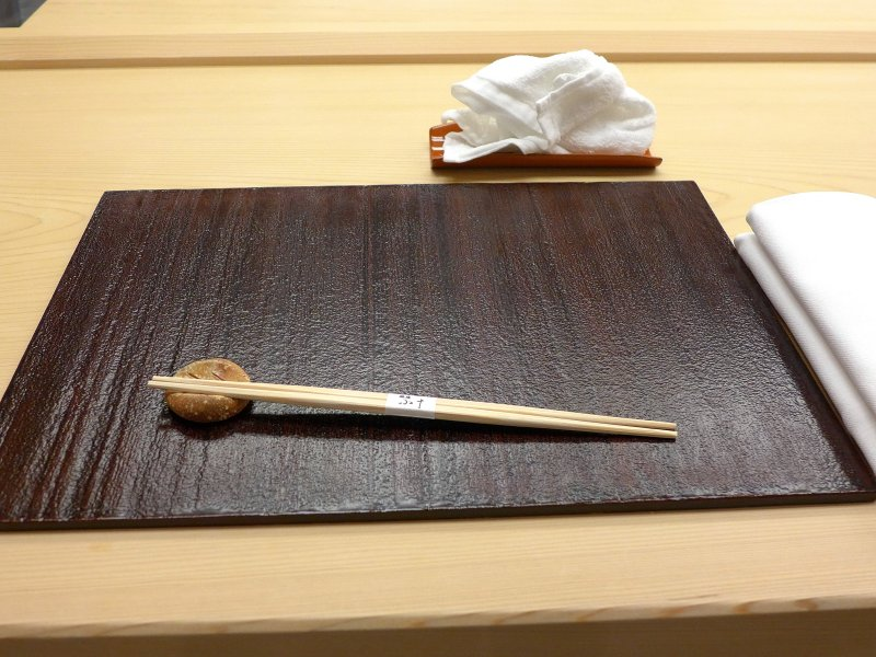 mise en place, Koju, Chef Toro Okuda, Ginza, Tokyo