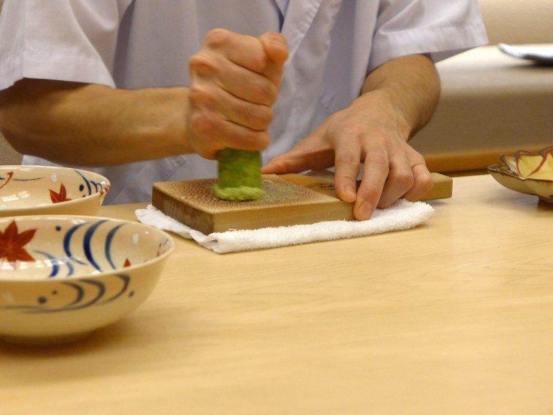 wasabi, Koju, Chef Toro Okuda, Ginza, Tokyo