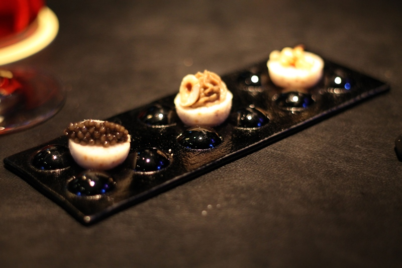 shot caviar, 41° Experience, Chef Albert Adrià, Sebastiàn Mazzola, Barcelona