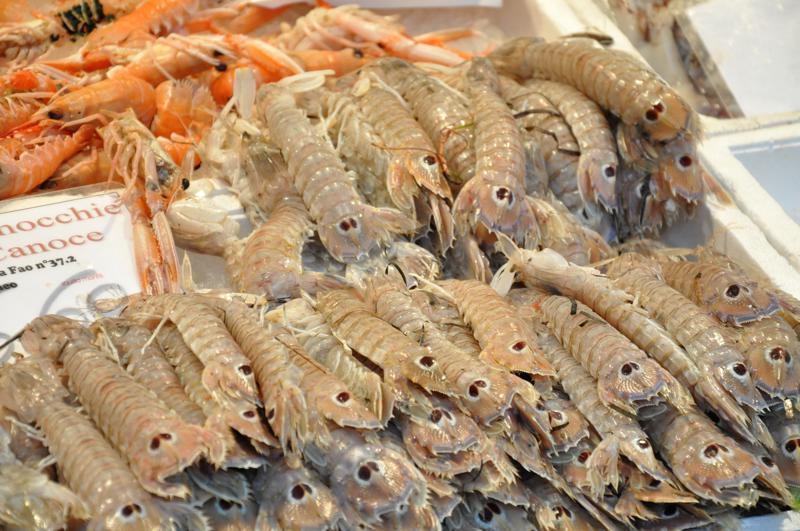 mercato del pesce, Ai Promessi Sposi, Bacari, Venezia