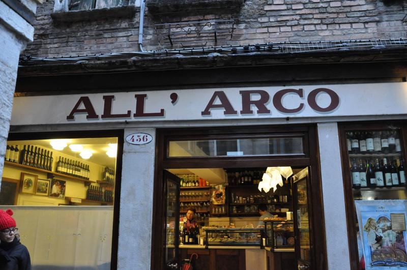 all'arco, Bacari, Venezia