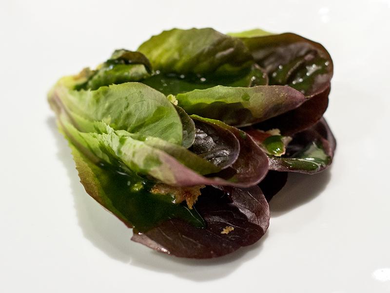 caesar salad, Osteria Francescana, Chef Massimo Bottura, Modena