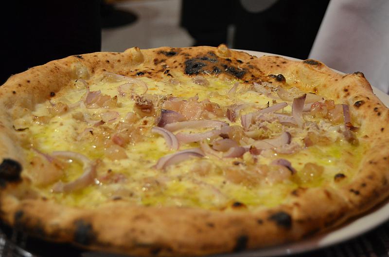 Pizza dell'Alleanza, Pizzeria 50 Kalò di Ciro Salvo, Napoli