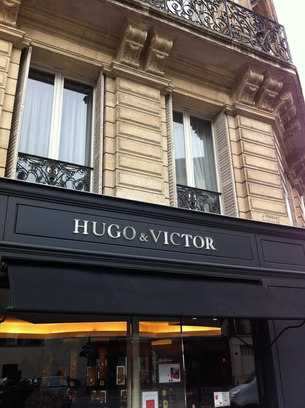 Hugo et Victor, Parigi di zucchero