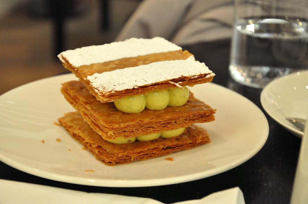 milelfoglie, Parigi di zucchero, Jacques Genin