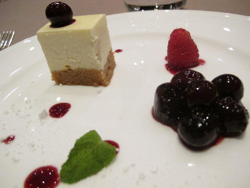 classicissima Cheese cake, Combal Zero, Chef Davide Scabin, Rivoli