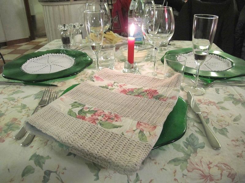 mise en place, Locanda delle Grazie, Chef Aldighieri, Curtatone