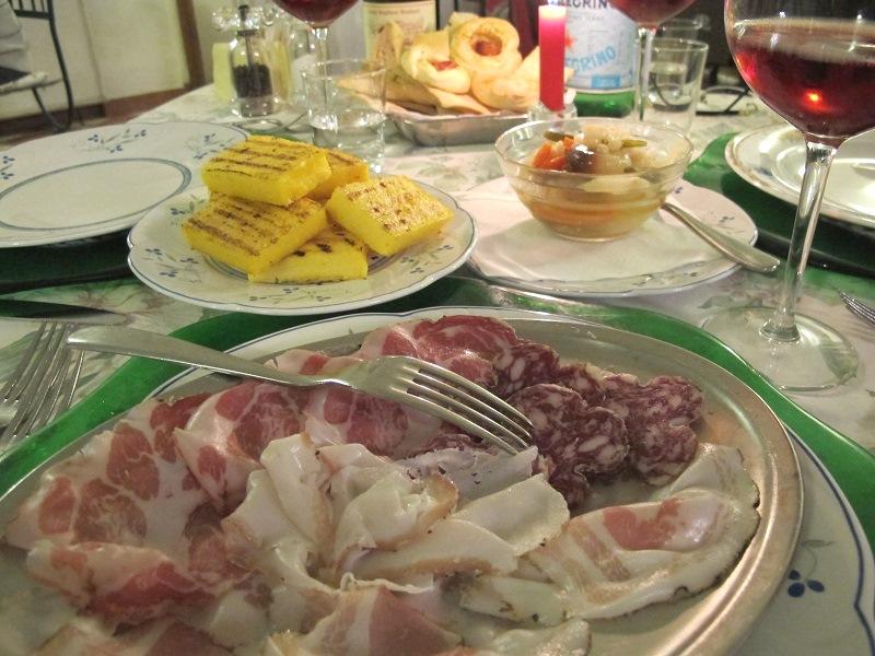 copap salame, Locanda delle Grazie, Chef Aldighieri, Curtatone