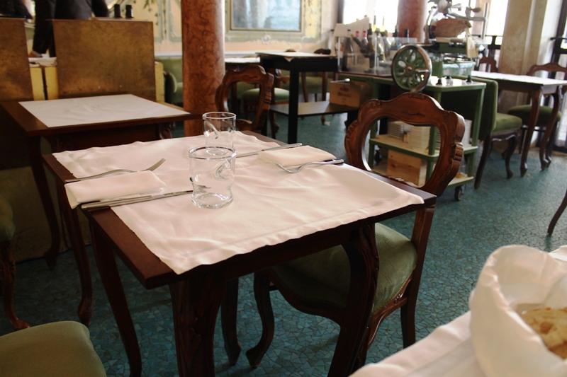 tavoli, ABC Quadri, Famiglia Alajmo, Venezia