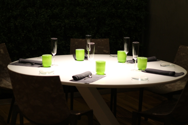tavolo, Aqua Crua, chef Baldessari, Barbarano Vicentino