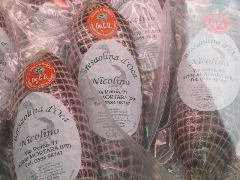 bresaola, Salumeria Nicolino, Mortara
