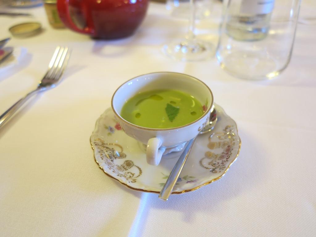 crema di piselli, Blupum, Chef Barbara Scabin, Ivrea, Torino