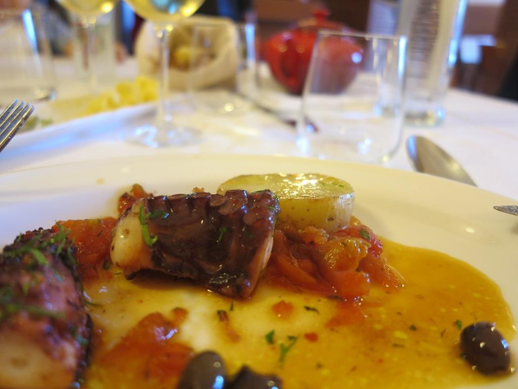polpo alla luciana, Blupum, Chef Barbara Scabin, Ivrea, Torino
