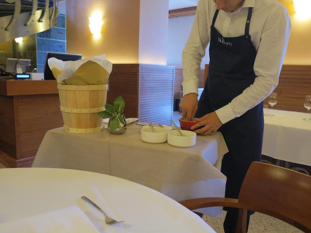 servizio del burro, Blupum, Chef Barbara Scabin, Ivrea, Torino