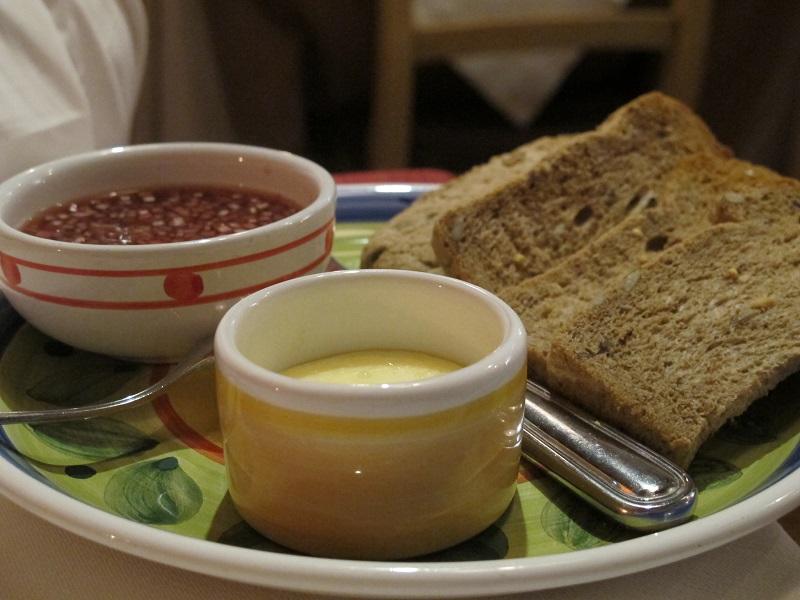 Burro salato e scalogno in aceto, Oste Scuro, Chef Simone Lugoboni, Verona