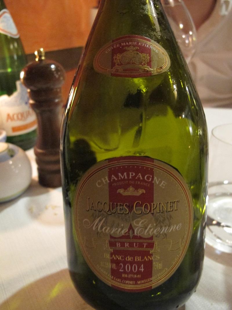 Champagne, Oste Scuro, Chef Simone Lugoboni, Verona
