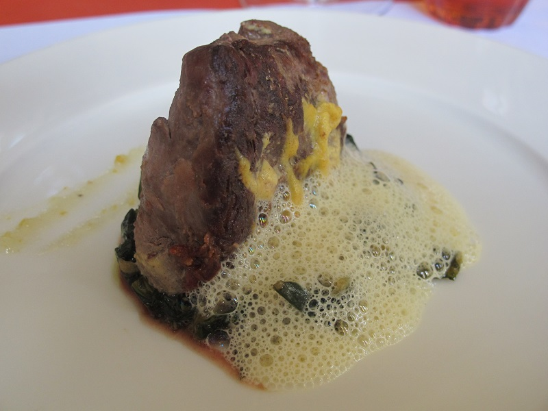 filetto di maiale, Il Rigolettino, Chef Gianni D'Amato, Jacopo Lecci, Reggiolo, Reggio Emilia