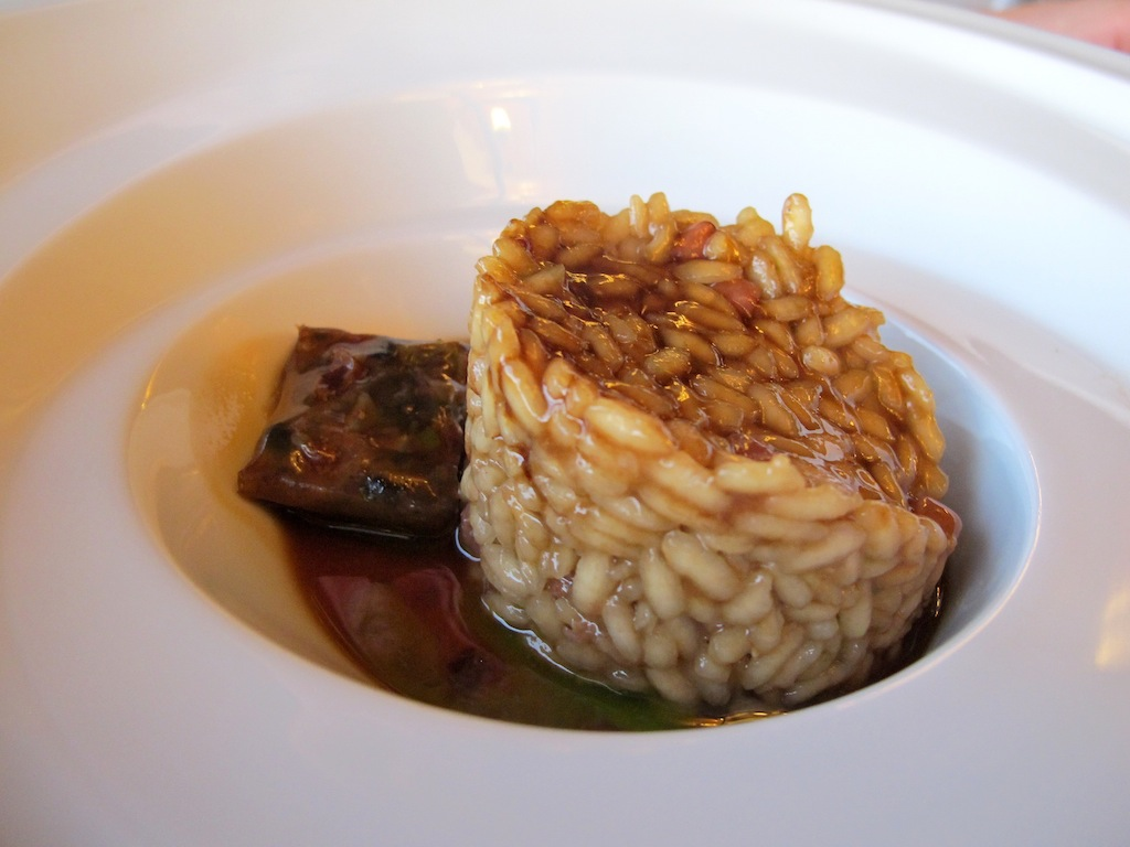 Riso con lumache, Akelarre, Chef Pedro Subijana, San Sebastián, Spagna