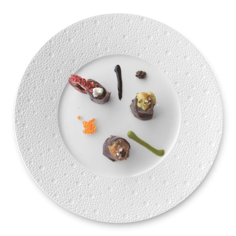 Maki di pelle di melanzana, Chef Moreno Cedroni