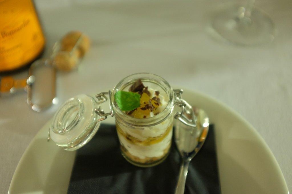 Pre-dessert, Antica Osteria della Peppina, Alseno, Piacenza