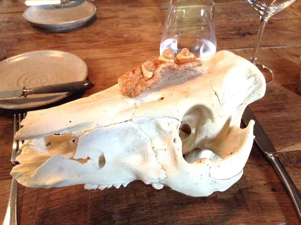 pelle di porco, In De Wulf, Chef Kobe Desramaults, Heuvelland