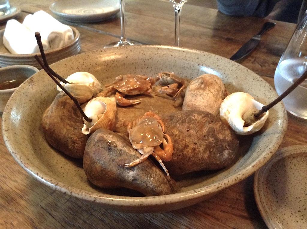 lumache di mare, In De Wulf, Chef Kobe Desramaults, Heuvelland