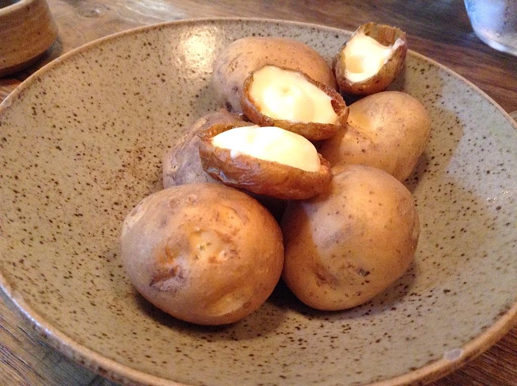 patate con panna acida, In De Wulf, Chef Kobe Desramaults, Heuvelland