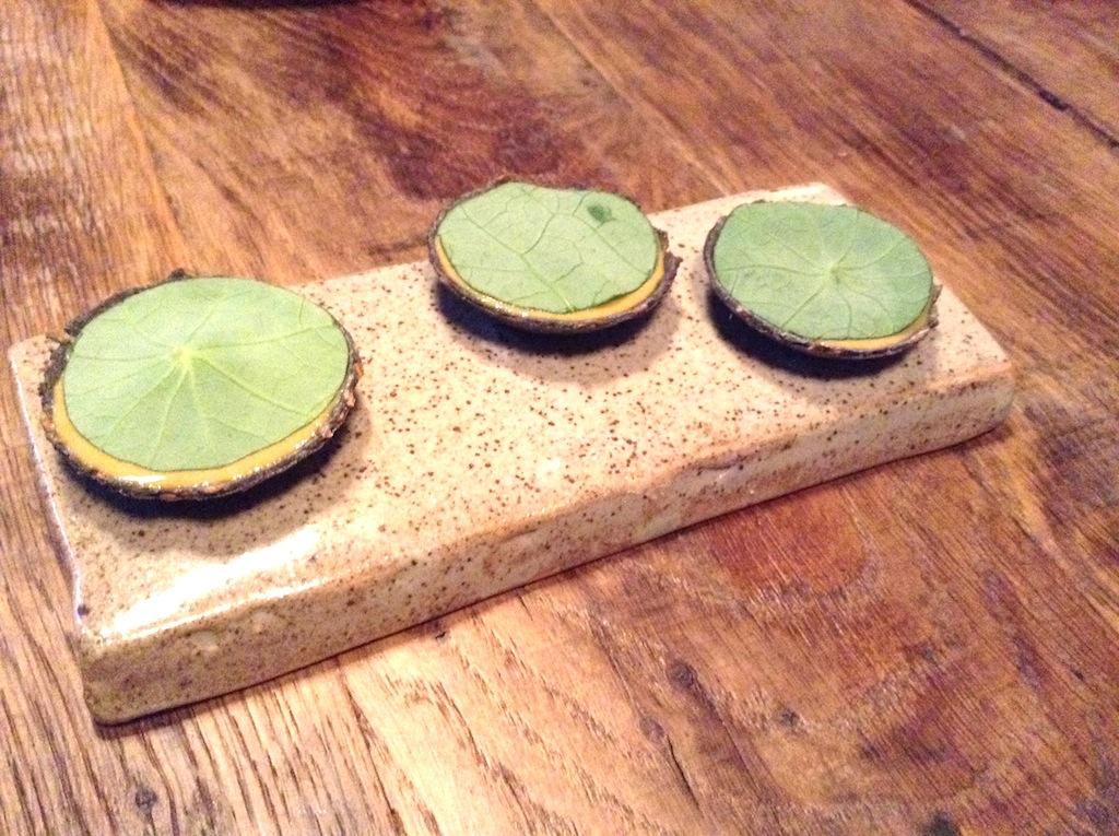 zuppa do cozze, tartelette, In De Wulf, Chef Kobe Desramaults, Heuvelland