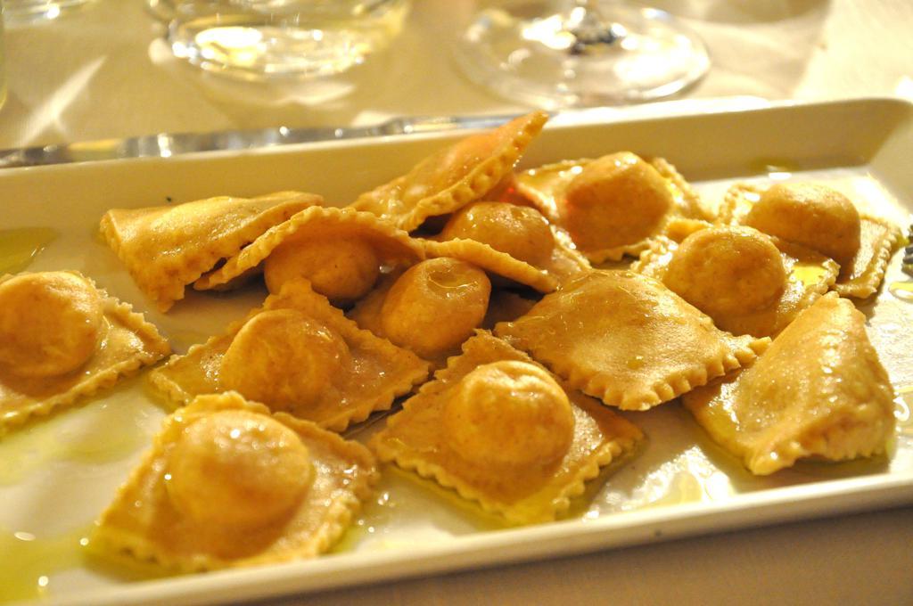 Tortelli di patate, olio e pepe, Chef Alessandro Cianti, Firenzuola, Firenze