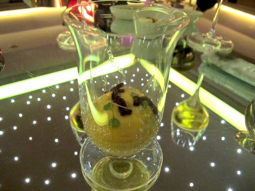 gelato alga kombu,  Imàgo, Chef Francesco Apreda, Roma, Hotel Hassler