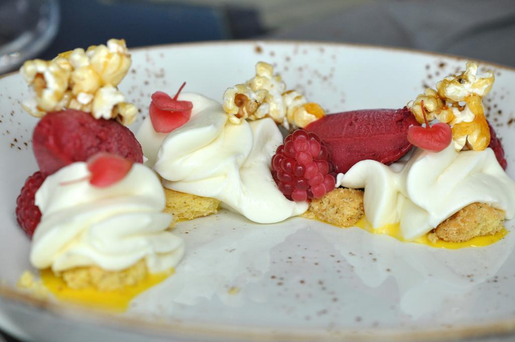 cheesecake, Marè, Chef Omar Casali, Cesenatico