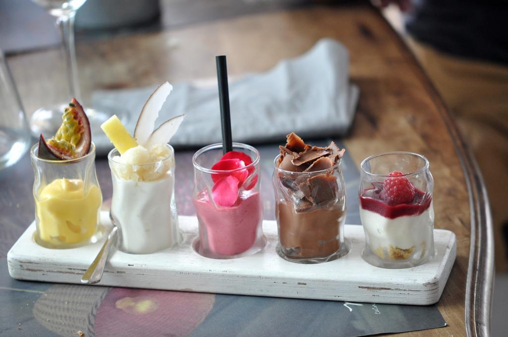 collezion e di dolci, Marè, Chef Omar Casali, Cesenatico