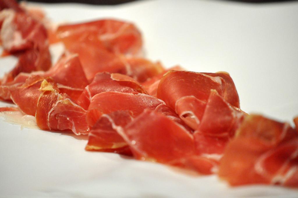 prosciutto crudo dalla corsica, Joël Robuchon, Chef Christophe Cussac, Montecarlo, Principato di Monaco