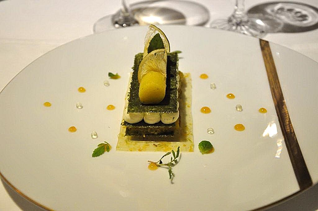 millefoglie, La Vague d'Or, Chef Arnaud Donckele, Saint-Tropez