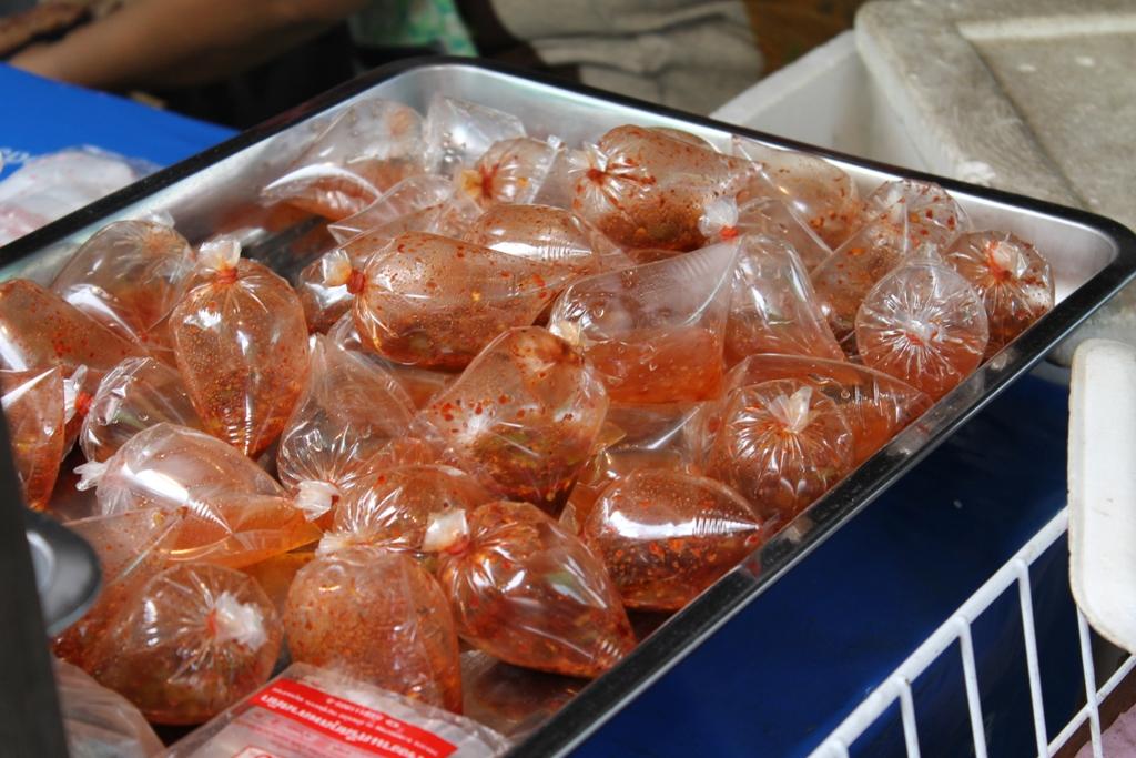 cedimenti piccanti, Thai Street Food, Bangkok, Thailandia