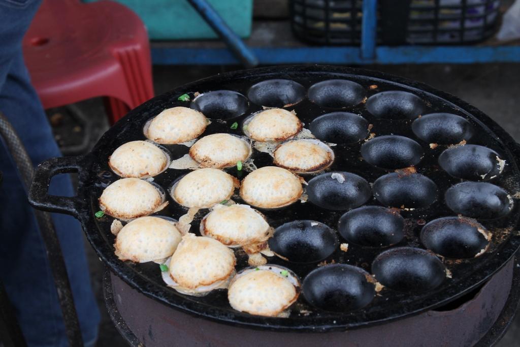 Kaone babin, Thai Street Food, Bangkok, Thailandia
