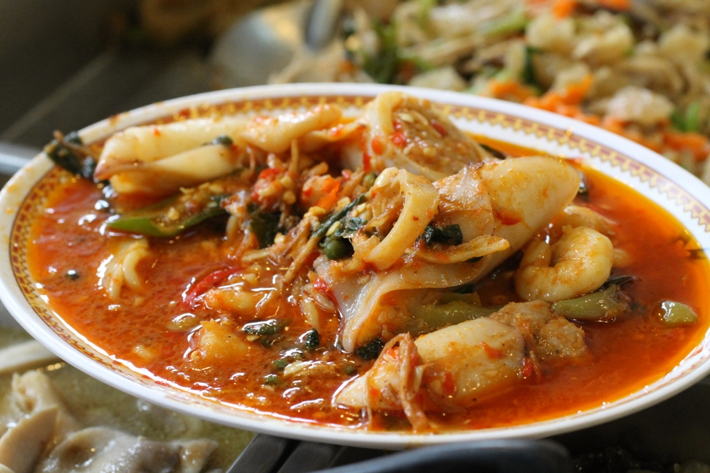 seafood, Thai Street Food, Bangkok, Thailandia