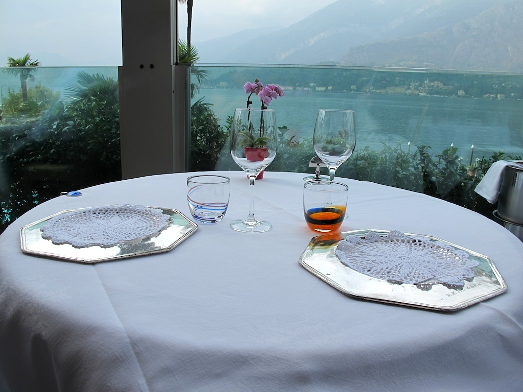 Mis en place, Mistral, Chef Ettore Bocchia, Bellagio, Como