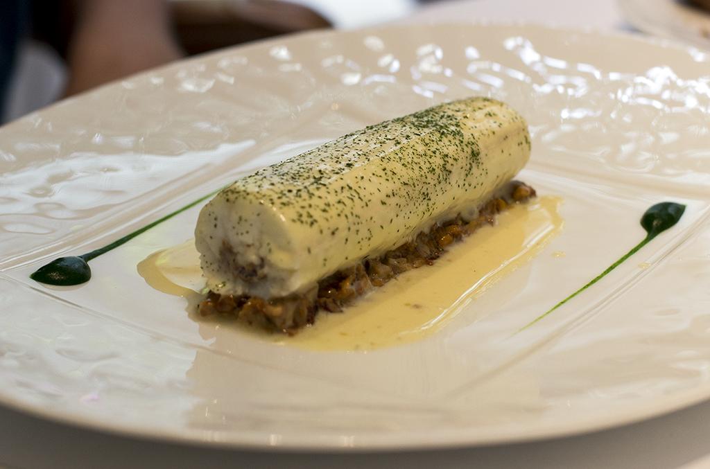sogliola di sabbia, Epicure au Bristol, Chef Eric Frechon, Paris
