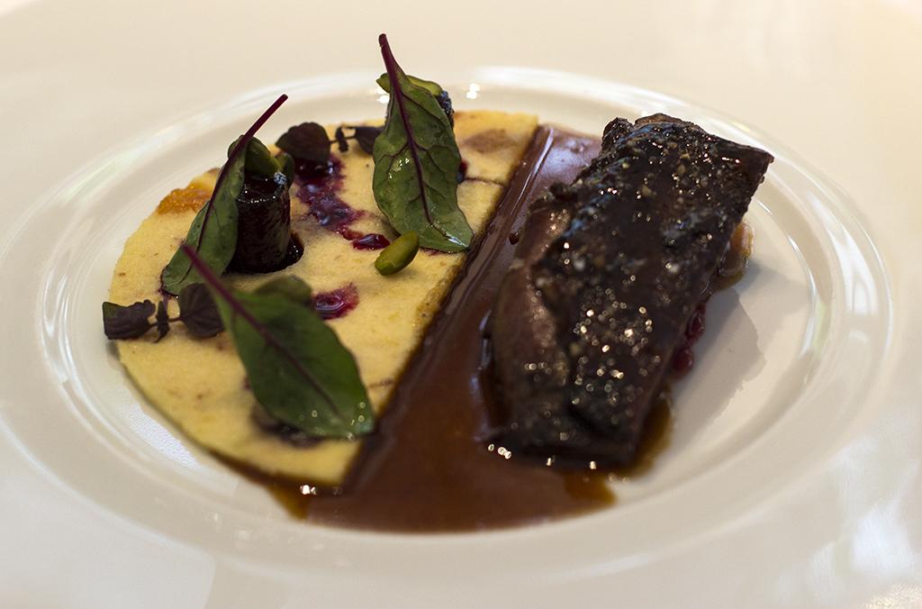 anatra selvatica, Epicure au Bristol, Chef Eric Frechon, Paris