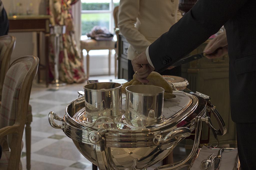 poulard en vessie, Epicure au Bristol, Chef Eric Frechon, Paris