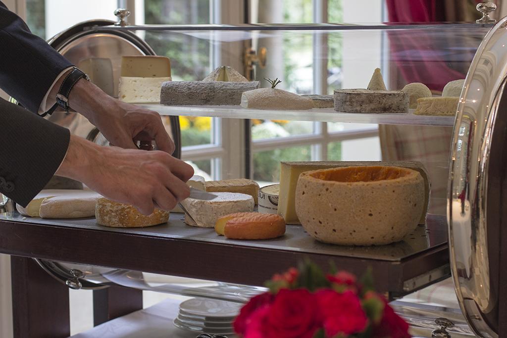 carrello die formaggi, Epicure au Bristol, Chef Eric Frechon, Paris