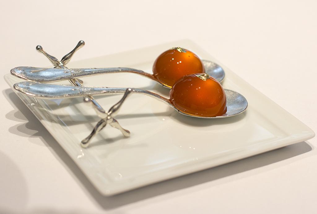 gelatine liquide, Epicure au Bristol, Chef Eric Frechon, Paris