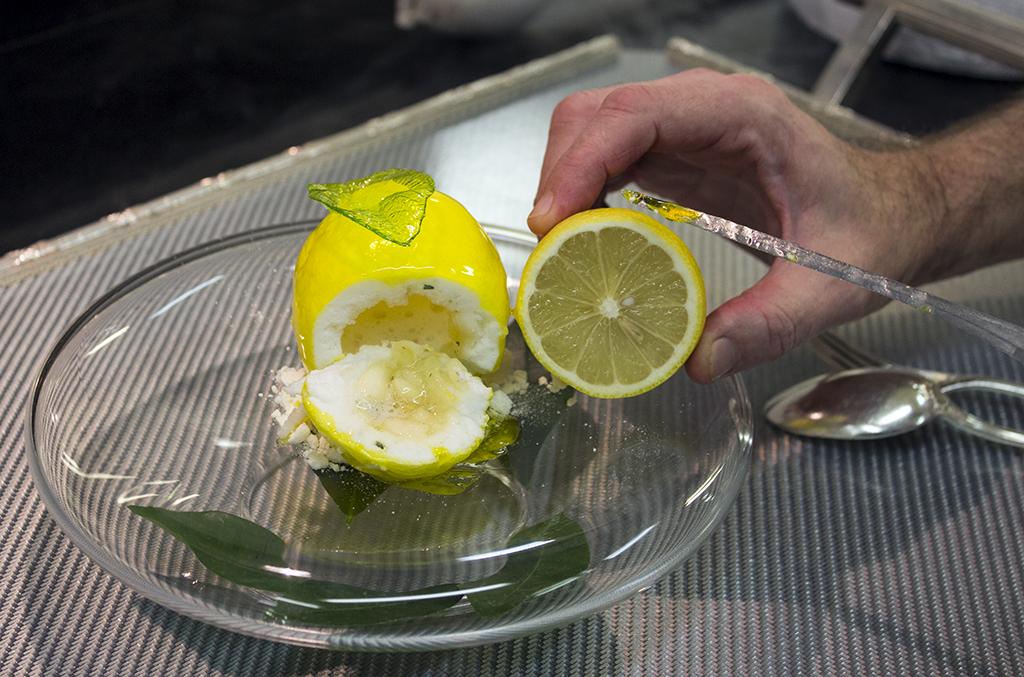 citron de menton ,Epicure au Bristol, Chef Eric Frechon, Paris