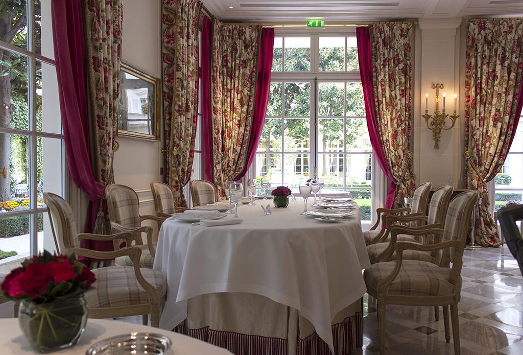mise en place, Epicure au Bristol, Chef Eric Frechon, Paris