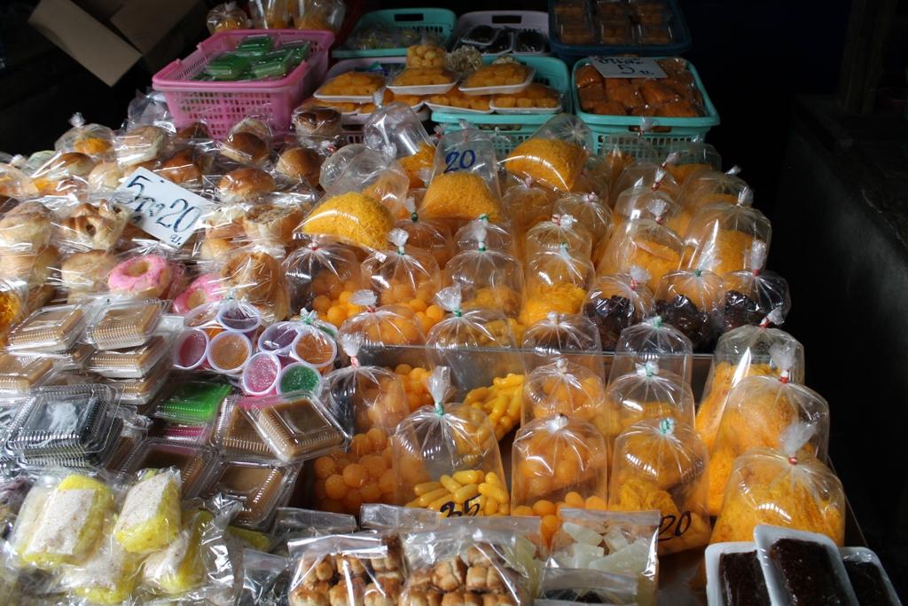 dolciumi thai, Thai Street Food, Thailandia, Bangkok
