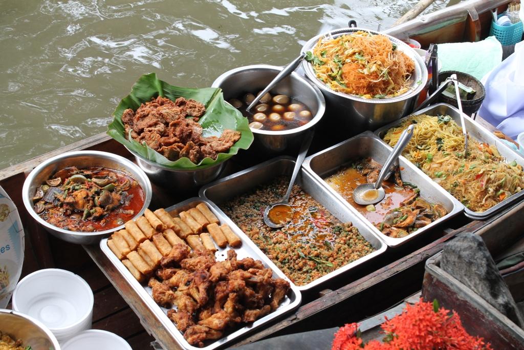 prodotti pad thai, Thai Street Food, Thailandia, Bangkok