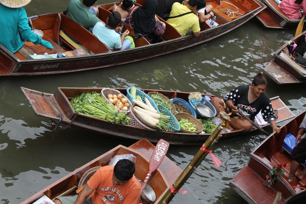 sampan, Thai Street Food, Thailandia, Bangkok