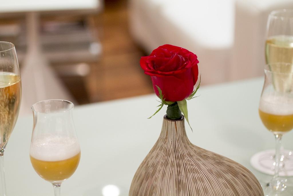 petali di rosa e gin tonic, Quique Dacosta, Denia, Spagna